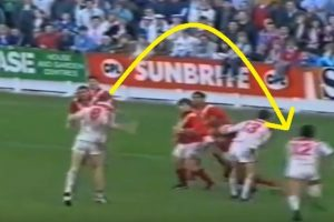 Watch: St Helens score from tactically heading the ball forward