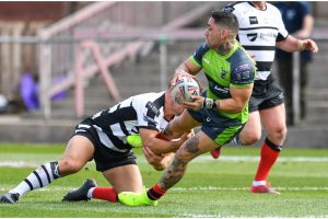 Challenge Cup Round-up: Widnes power passed 12-man West Wales, Featherstone too much for Bradford and Swinton survive late Newcastle comeback