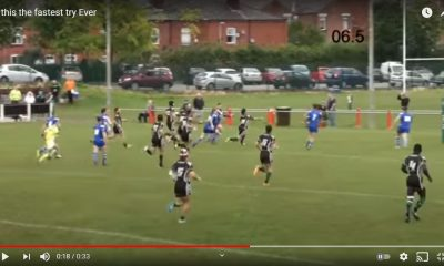 Watch: Wigan St Patricks player scores the fastest try in rugby league history