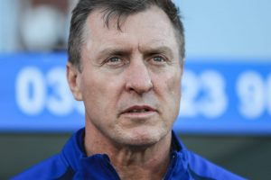 What happened to Brian McDermott's replacement at Leeds Rhinos