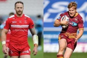 Hull KR v Huddersfield: 21-man squads, injury update and TV details