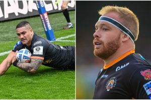 Daryl Powell quizzed about whether he will take Holmes and Mata'utia to Warrington
