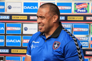 Willie Poching gives update on coaching future after routing Hull
