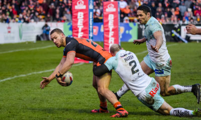 Former Castleford winger searching for new English club